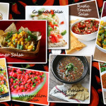 Different salsas to sample