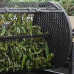 green chile roaster