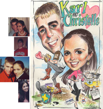 Caricatures by Chad Straka